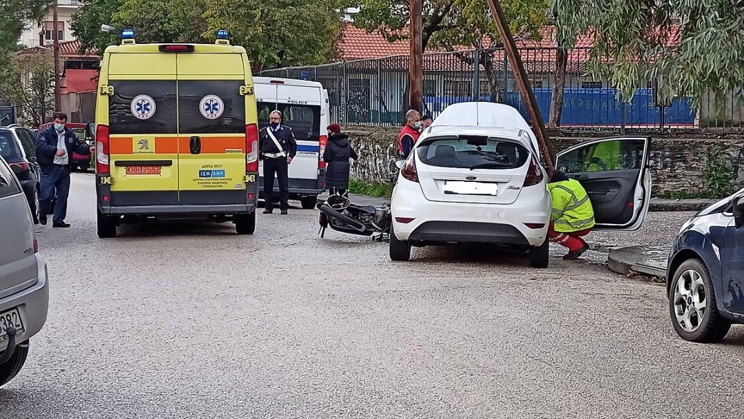 Δικυκλιστής τραυματίστηκε σε ένα ακόμη τροχαίο στο Αγρίνιο