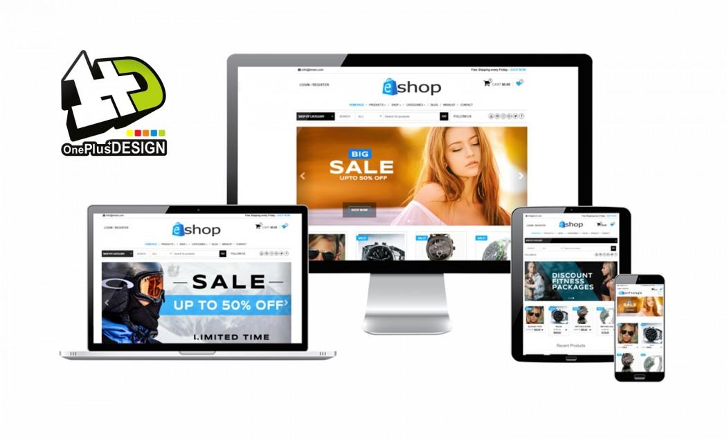 Αγρίνιο: One Plus Design – Αποκτήστε ένα σύγχρονο e-shop με 100% επιδότηση
