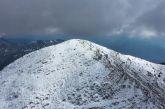 Βίντεο: το ολόλευκο Παναιτωλικό Όρος!