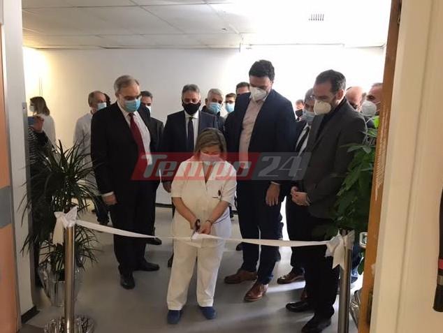 Πάτρα: Εγκαινιάστηκε η νέα Καρδιοχειρουργική Κλινική στο Νοσοκομείο Ρίου από τον Βασίλη Κικίλια