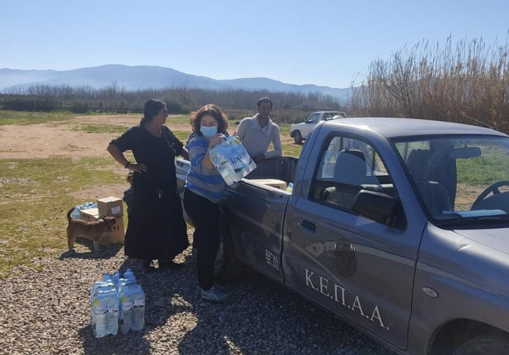 Δήμος Αγρινίου: Ρομά σε Λεύκα και Λαγκαδιά ενημερώθηκαν για τα μέτρα προστασίας κατά του κορωνοϊού