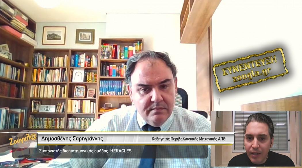 Σαρηγιάννης: Ξεκίνησε το τρίτο κύμα κορωνοϊού