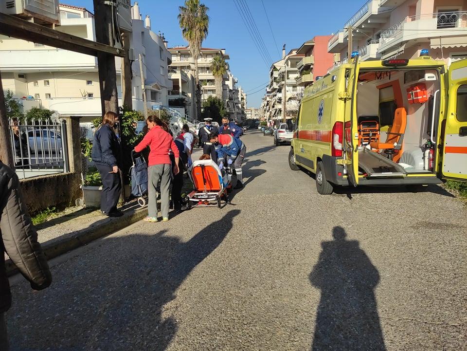 Αγρίνιο: Στο νοσοκομείο γυναίκα ελαφρά τραυματίας από παράσυρση
