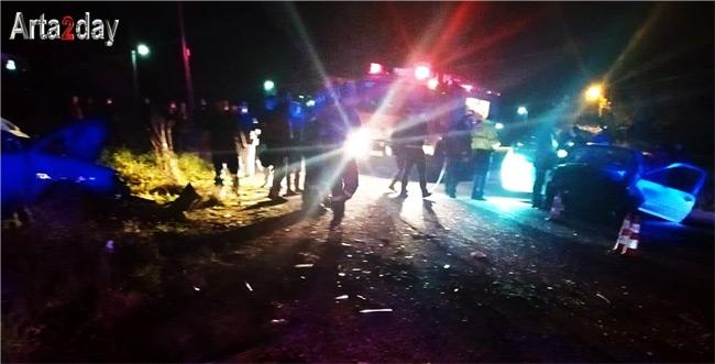 Ζευγάρι από την Αμφιλοχία ενεπλάκη στο θανατηφόρο τροχαίο στην Άρτα- Νοσηλεύεται στα Ιωάννινα η οδηγός