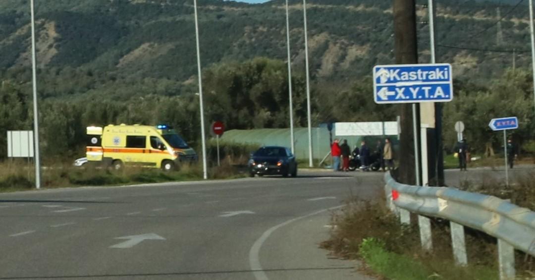 Τροχαίο κοντά στο Καστράκι