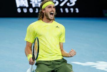 Australian Open: Ανεπανάληπτος θρίαμβος του Στέφανου Τσιτσιπά επί του Ναδάλ! -Τον νίκησε 3-2 σετ με επική ανατροπή και πέρασε στους «4»
