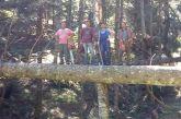 Ευρυτανία: Στα… λημέρια των ξυλοκόπων της Πρασιάς