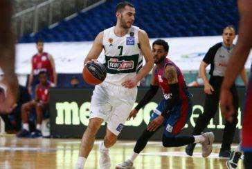 Basket League: Παναθηναϊκός – Μεσολόγγι 102-68
