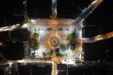 Το Αγρίνιο από ψηλά την Τσικνοπέμπτη που δεν θα ξεχάσουμε (βίντεο)