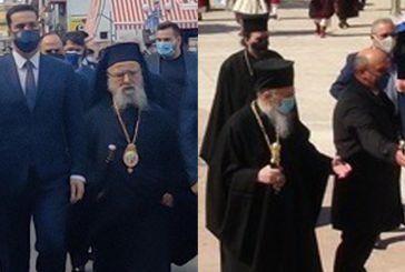 Ιερόθεος-Κοσμάς: δυο Ιεράρχες, δύο επιλογές και ως προς…τις μάσκες
