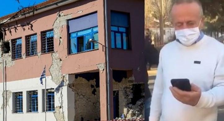 Σεισμός Ελασσόνα – Μητσοτάκης στον διευθυντή Δημοτικού σχολείου που έβγαλε με ασφάλεια 63 παιδιά: Mας κάνατε υπερήφανους