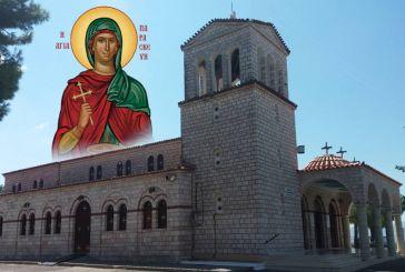 O Ακάθιστος Ύμνος από τον Ι.Ν. Αγίας Παρασκευής Αγρινίου (βίντεο)