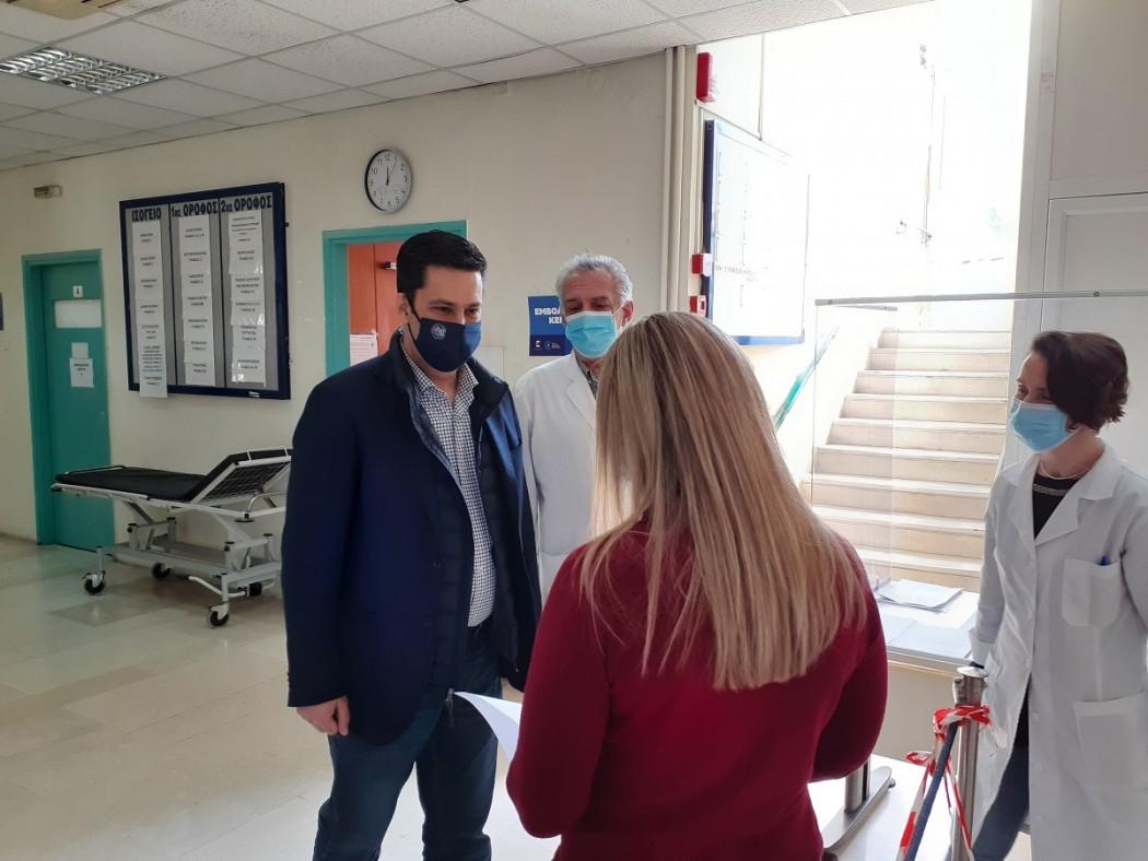 Τρίτη εμβολιαστική γραμμή στο Κέντρο Υγείας Αγρινίου