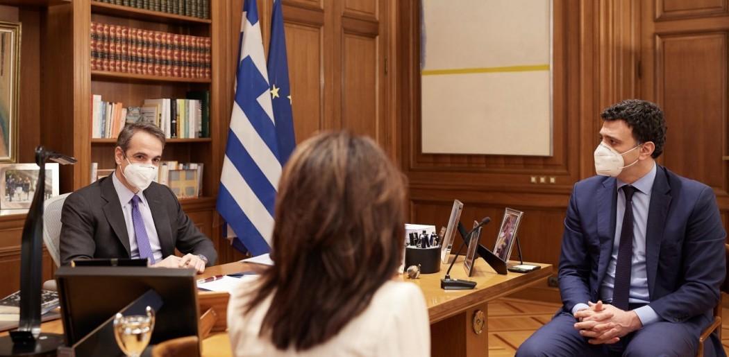Μητσοτάκης: «Υπομονή δύο εβδομάδες – Σταδιακό άνοιγμα για σχολεία, οικονομία»