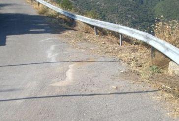 Κάτω Μυρτιά: Ρομά «σήκωσε» δέκα μέτρα προστατευτικές μπάρες στην Εθνική Οδό Αγρινίου-Θέρμου