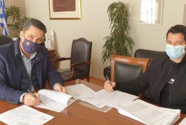 Αγρίνιο: Υπογραφές για έργα σε ΔΑΚ και γήπεδα Ρηγανά και Παπαδατών