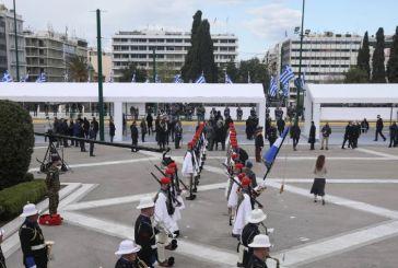 Εντυπωσίασε η μεγαλοπρεπής στρατιωτική παρέλαση για τα 200 χρόνια από το 1821
