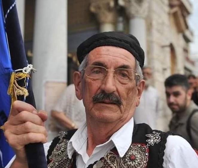 Θλίψη στο Μεσολόγγι για τον θάνατο του Βασίλη Τσαρούχη