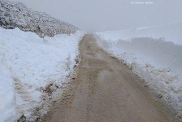 Οδοιπορικό στα χιονισμένα Ακαρνανικά Βουνά και στην Παναγία τη Ρομβιάτισσα