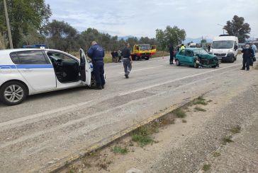 Αγρίνιο: Αναστάτωση από τροχαίο στη διασταύρωση Συκιάς