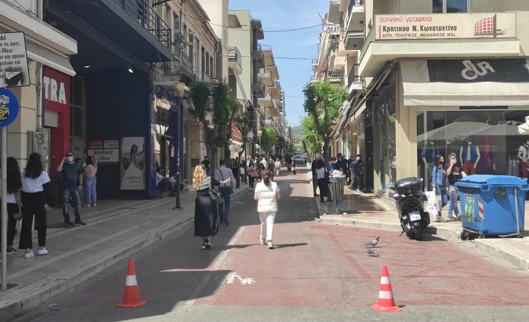 Αγρίνιο: Τα αιτήματα του εμπορικού κόσμου