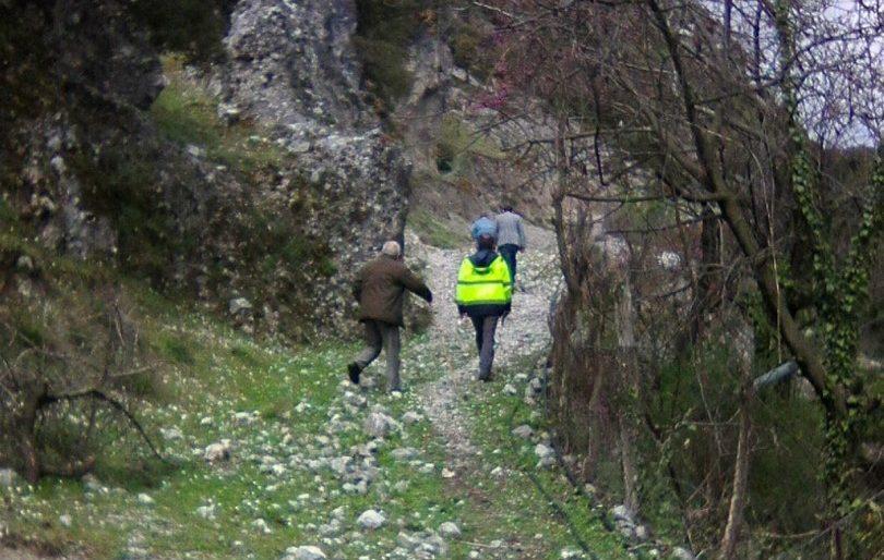 Προβληματίζουν τα βράχια στο Αυλάκι- αυτοψία από γεωλόγο σήμερα