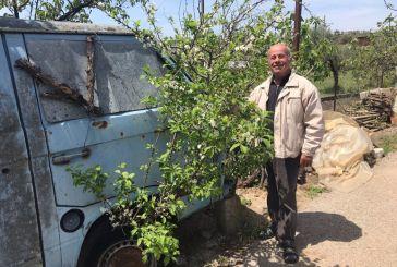 Παναιτώλιο: Το εγκαταλελειμμένο αυτοκίνητο που άνθισε