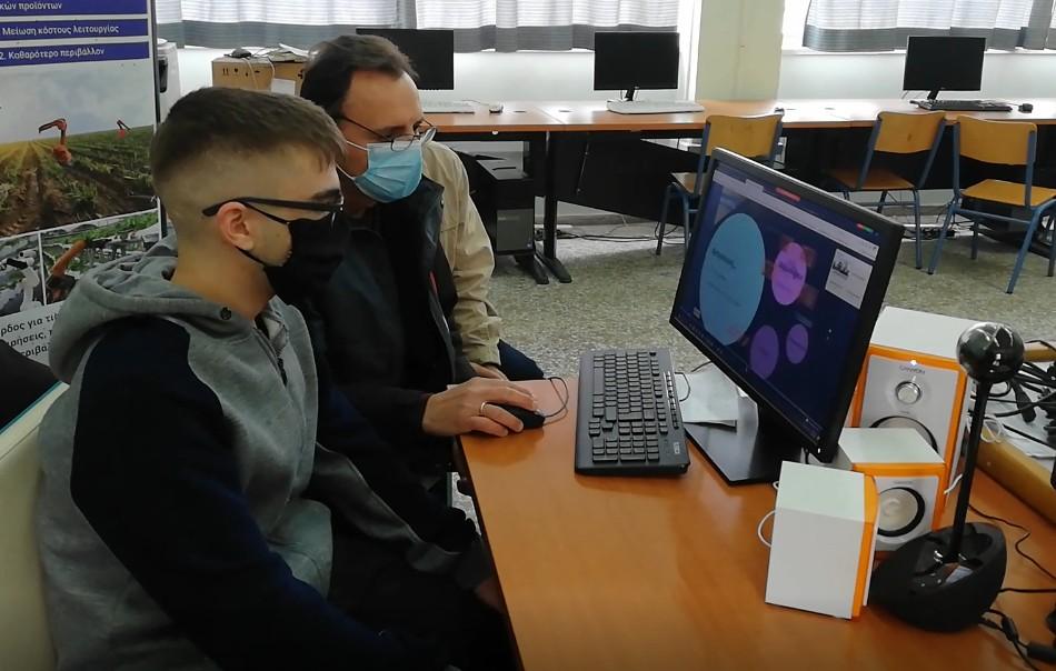 Κέρδισε τις εντυπώσεις το ψηφιακό θερμοκήπιο του 2ου ΕΠΑΛ Αγρινίου