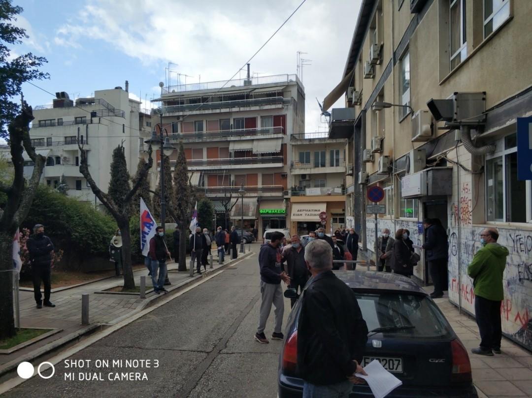 Αγρίνιο: συμβολικές συγκεντρώσεις για την Υγεία από το Εργατικό Κέντρο