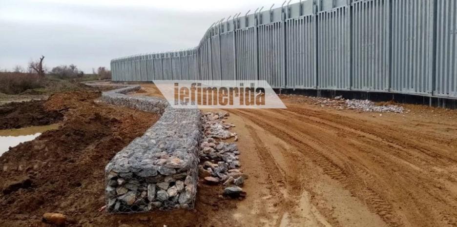 Βίντεο: Δείτε πώς χτίζεται ο φράχτης στον Εβρο, μήκους 27 χιλιομέτρων