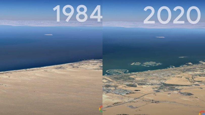 Η Google «γυρίζει» τον χρόνο πίσω με το Timelapse της κλιματικής αλλαγής: Πώς άλλαξε ο κόσμος τις τελευταίες τέσσερις δεκαετίες