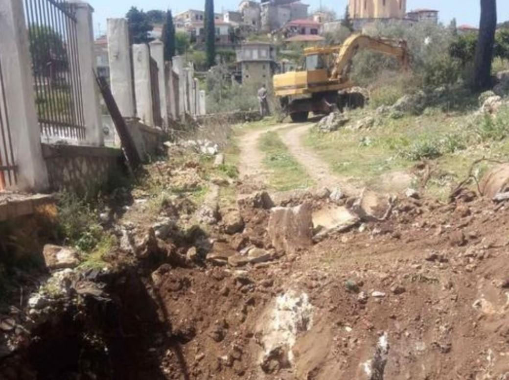 Ξεκίνησαν οι εργασίες αποκατάστασης στο κοιμητήριο της Κατούνας