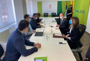 Την προώθηση ελληνικών αγροτικών προϊόντων και επενδύσεων στη Σερβία συζήτησαν Λιβανός – Νεντέμοβιτς