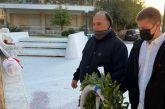 Κατάθεση στεφάνου από το ΜέΡΑ25 στο μνημείο των 120 στο Αγρίνιο