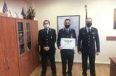 «Αστυνομικός Σταυρός» στον Αρχιφύλακα Ιωάννη Τζίμα για μια ηρωική πράξη