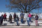 Εθελοντική δράση στο μνημείο των εκτελεσθέντων στα Καλύβια