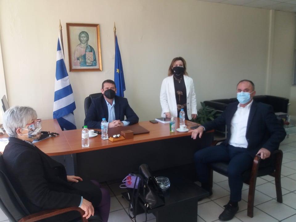 Με τον βουλευτή του ΚΚΕ συναντήθηκε ο δήμαρχος Αμφιλοχίας