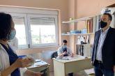 Το Νοσοκομείο Μεσολογγίου επισκέφθηκε ο Θανάσης Παπαθανάσης