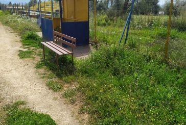 Σε άθλια κατάσταση το γήπεδο Παραβόλας