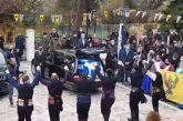 Χορεύοντας πυρρίχιο είπαν το τελευταίο αντίο στον 23χρονο φαντάρο που ξεψύχησε στη Λήμνο (βίντεο)