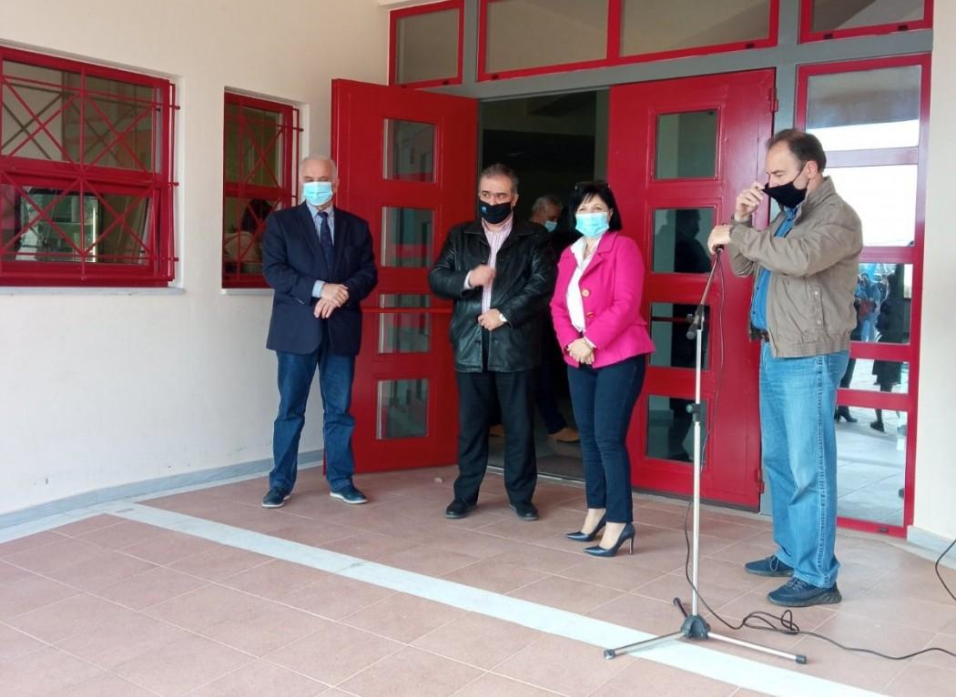Επίσκεψη της Μαρίας Σαλμά στο 2ο ΓΕΛ Μεσολογγίου