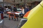 Σοβαρός τραυματισμός δικυκλιστή σε τροχαίο στο κέντρο του Αγρινίου (φωτο)