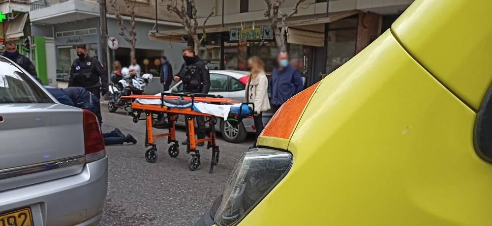 Τραυματισμός δικυκλιστή στο κέντρο του Αγρινίου