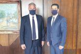 Την απόφαση του δήμου Αγρινίου για την αργία της 11ης Ιουνίου παρέδωσε στον Βορίδη ο Παπαναστασίου