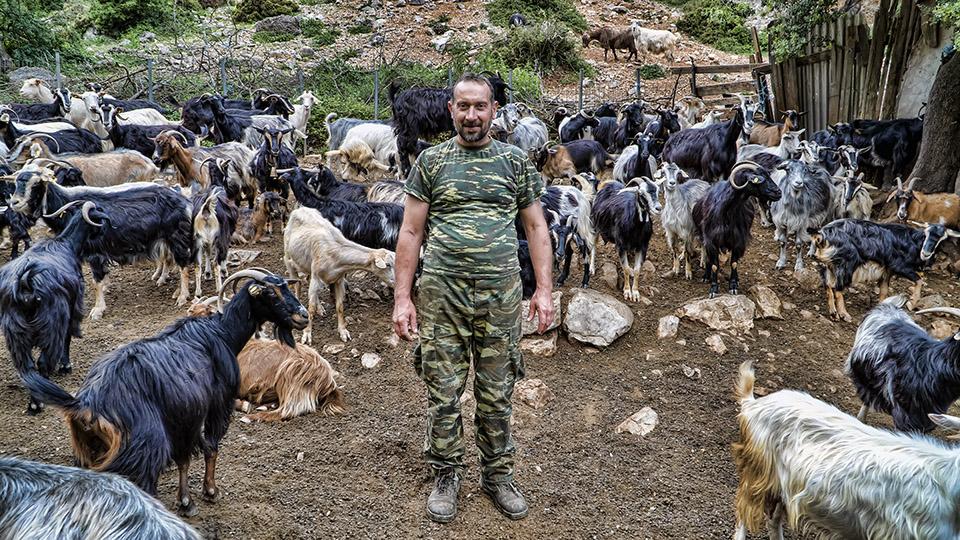Συζητώντας με έναν κτηνοτρόφο του Ορεινού Βάλτου (βίντεο)