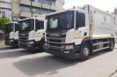 Παρέλαβε τρία νέα απορριμματοφόρα ο Δήμος Αγρινίου