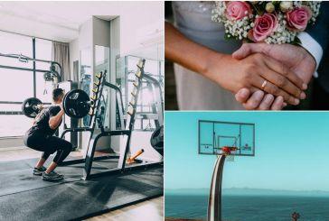 Άρση μέτρων: Τι ισχύει από Δευτέρα για γυμναστήρια, γήπεδα, γάμους και δεξιώσεις