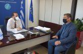 Συνάντηση Φαρμάκη με τον Αντιπρόεδρο του ΕΛΓΑ