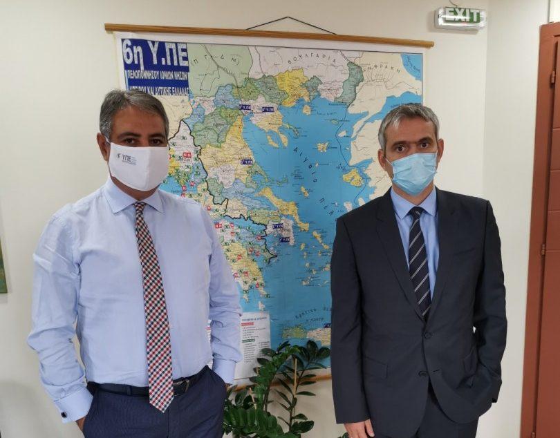 Καρβέλης σε Καραγκούνη: θα κινηθούν ξανά όλες οι διαδικασίες για την ενίσχυση του Κέντρου Υγείας Κατούνας