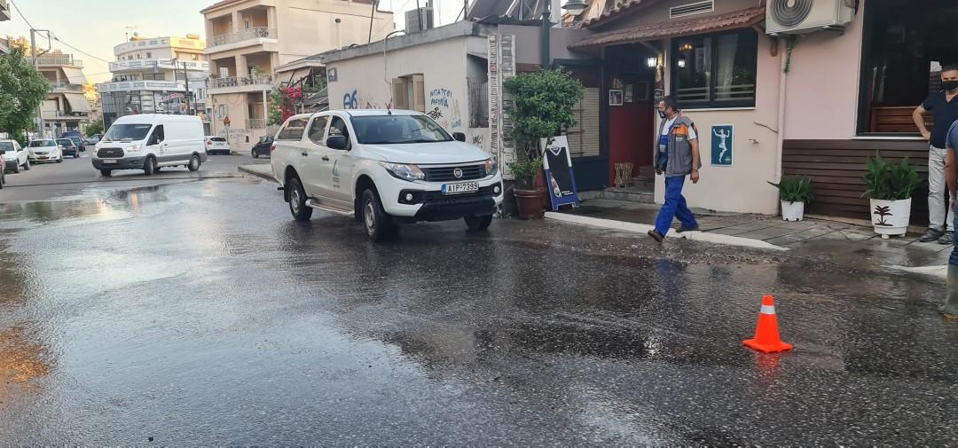 Αγρίνιο: έκτακτη διακοπή νερού σε τμήμα της πόλης